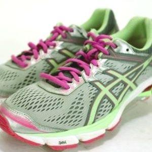 ASICS GT-1000 4 Women's Running Shoes Sz 8.5  Gray